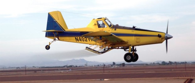 how to become a crop duster pilot